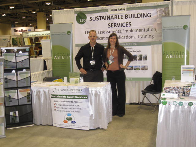 Leonardo Academy Staff at 2011 Greenbuild